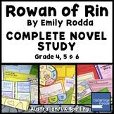 Rowan of Rin Complete Novel Study Bundle