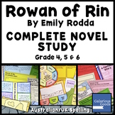 Rowan of Rin Complete Novel Study Bundle