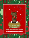 Alphabet Scavenger Hunt: Reindeer