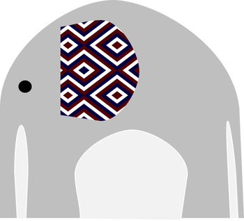 Rowlett Elephant Clipart - PROFITS DONATED!