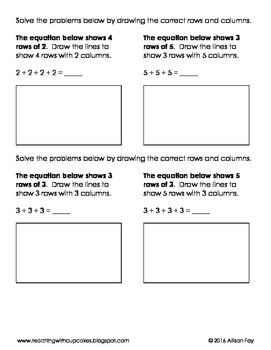 Rows and Columns Partitioning, Repeated Addition