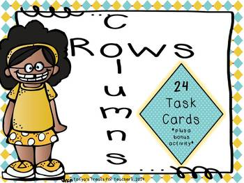 Rows and Columns task cards~2.G.2