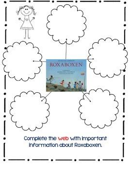 Roxaboxen, Alice McLerran- A Complete Book Response Journal