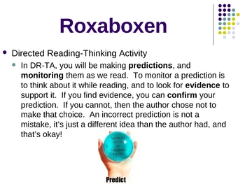 """Roxaboxen"" Directed Reading-Thinking Activity - Open Court"