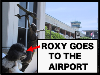 Airport Tour with Roxy the Dog—Terminal Building and Firehouse Included!