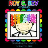Roy G Biv Craftivity {White Light and Rainbows}