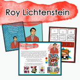 Roy Lichtenstein Art Distance Learning/Sub Lesson/One Day