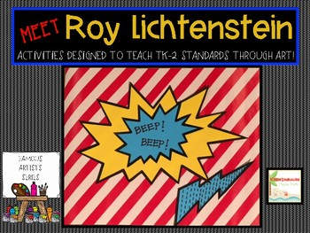 Roy Lichtenstein Famous Artist Unit-Art Project and More