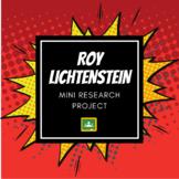 Roy Lichtenstein Mini Research Project