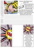 Roy Lichtenstein- POP ART worksheet