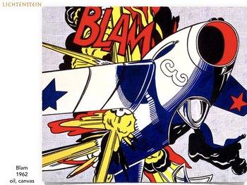 Roy Lichtenstein - Pop Art - Modern Art History - Popart - 209 Slides