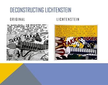 Roy Lichtenstein Power Point (Abstract, Pop Art, Comic Book)