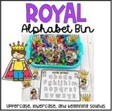 Royal Alphabet Bin