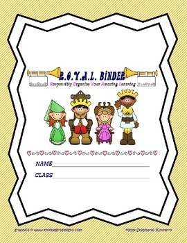 Royal {Castle} Binder Cover