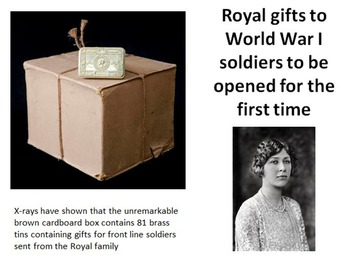 Royal Christmas Gifts 1914