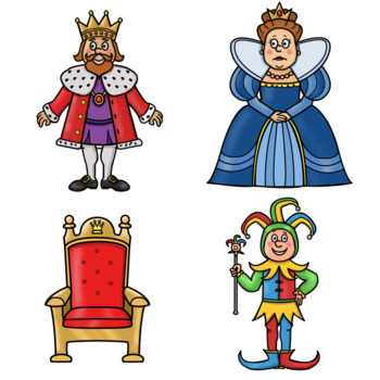 Clip Art PNGs - Royal Fairy Tale