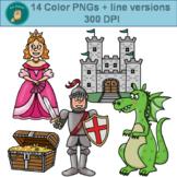 Clip Art PNGs - Royal Fairy Tale