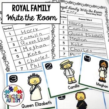 Royal Family Write the Room
