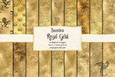 Royal Gold Digital Paper