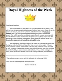Royal Highness of the Week