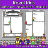 Royal Kids Editable Classroom Newsletter Template