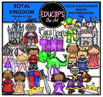 Royal Kingdom Clip Art Bundle  {Educlips Clipart}
