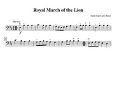 Royal March of the Lion for Cello