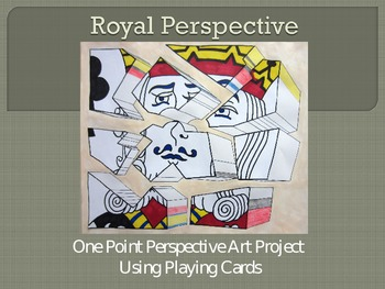 Royal Perspective: One Point Perspective Project using Pla