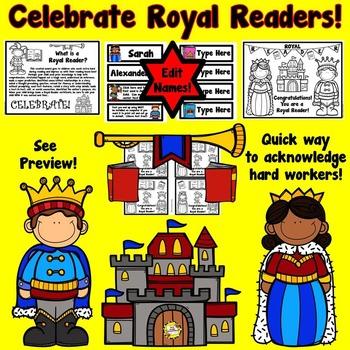 Royal Reader Award