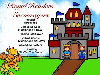 Royal Readers Theme (Prince, Princess, Castle, Dragons) -