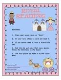 Royal Reading:  Princess CVC and Sight Word Sentence Game