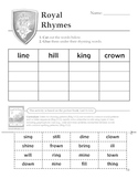 Royal Rhymes!