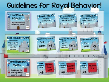 Royal Rules BUNDLE – Guidelines for Classroom Behavior