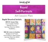 Royal Self-Portraits Lesson Plan