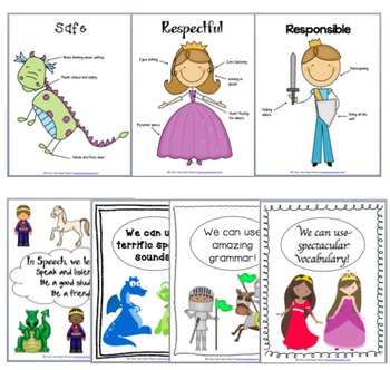 Royal Start to Speech (Back to School Mini Curriculum and Posters)