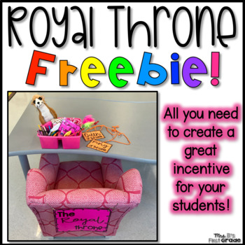 Royal Throne - Twist on a VIP Table!