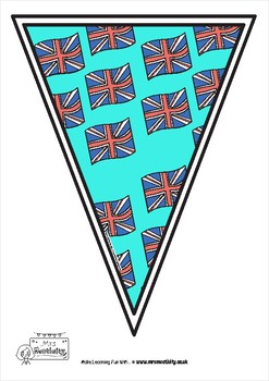 Royal Wedding 2018 Bunting Color