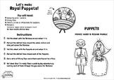 Royal Wedding 2018 Puppet Show Craft Activity