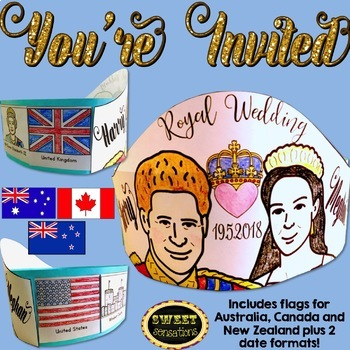 Royal Wedding Crown Harry and Meghan