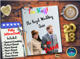 Royal Wedding : Royal Wedding Quiz