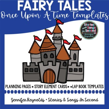 Royal Writing--Once Upon A Time Fairy Tale Templates