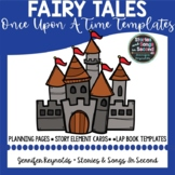 Royal Writing Activities--Once Upon A Time Fairy Tale Templates