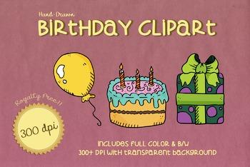 Royalty Free BIRTHDAY PARTY Clip Art