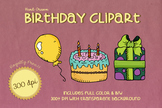 Royalty Free BIRTHDAY PARTY Clip Art
