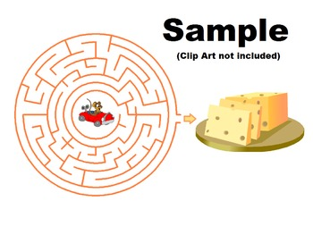 Royalty-free Printable Circular Maze creation program for Windows