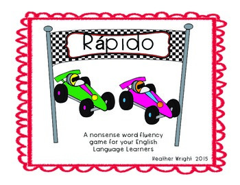 Rápido Nonsense Word Fluency Game