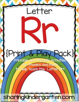 Letter Rr {Print & Play Pack}