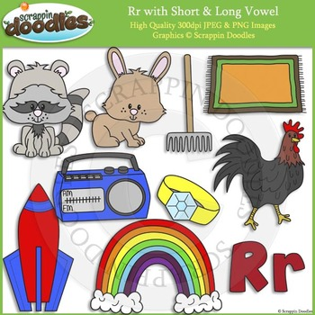 R Short and Long Vowel