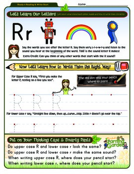 Rr Worksheet