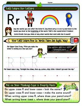 Rr Worksheet